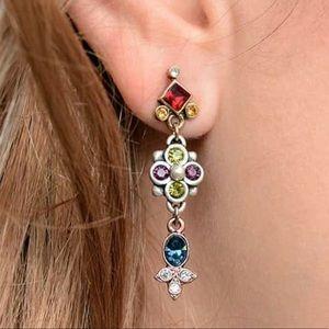 Jewelry - Jewel Crystal Ant. Silver, NWT